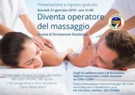 Corso di Massaggio CSEN